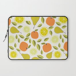 Fruit Orange Pear Lime and Lemon Laptop Sleeve