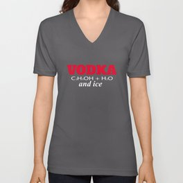 Vodka and ice Unisex V-Neck