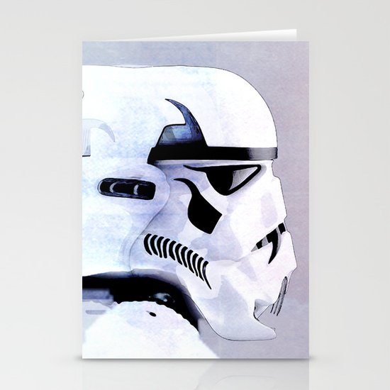 vampire trooper Stationery Cards