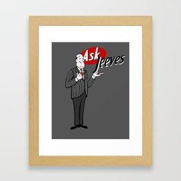 Jeeves Framed Art Print
