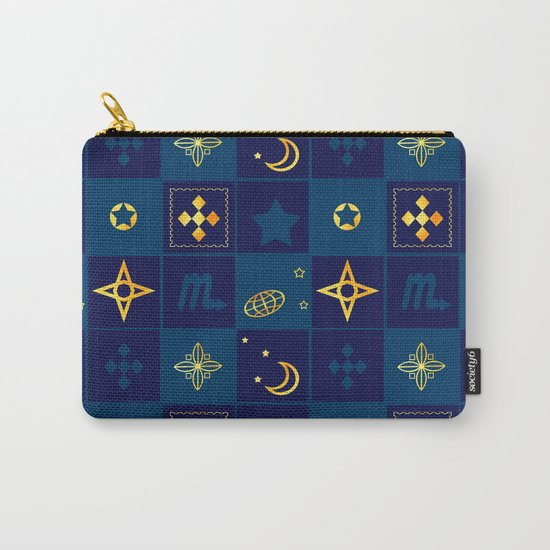 Night Waltz of the planets. Carry-All Pouch