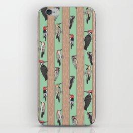 Woodpeckers Pecking iPhone Skin