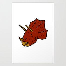 Stegosaur Art Print