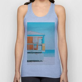 Santa Monica / California Unisex Tank Top