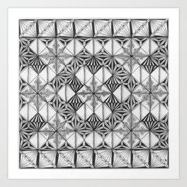 Zentangle®-Inspired Art - ZIA 41 Art Print