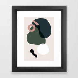 Domio Abstract 2 Framed Art Print