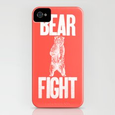 Bear Fight Slim Case iPhone (4, 4s)