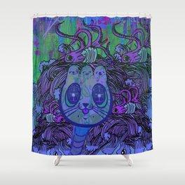 AHOY 2 Shower Curtain