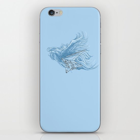 gliding on the wind iPhone & iPod Skin