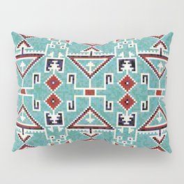 Native American Indians Navajo Pattern Pillow Sham