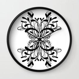 Pattern 5 Wall Clock