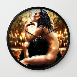 Loki - A Study in Seduction XI Wall Clock