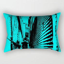The Alley Rectangular Pillow