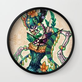 Dance of the Dead Wall Clock