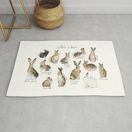 Rabbits & Hares Rug