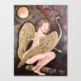 The Cupid Canvas Print