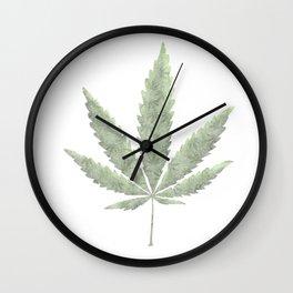 Weed Nation Wall Clock