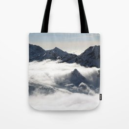 Mountain Peak Tote Bag