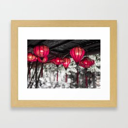 Lanterns of Hoi An IV Framed Art Print