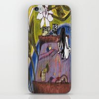 perfume iPhone & iPod Skins featuring Perfume by Carol Love