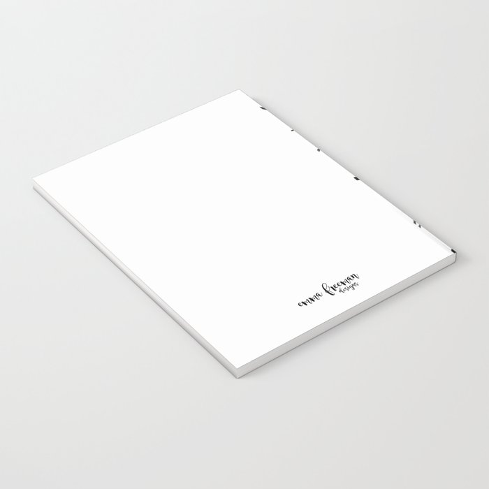 Black and White Marks Notebook