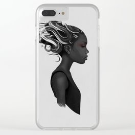 Hard to say Clear iPhone Case