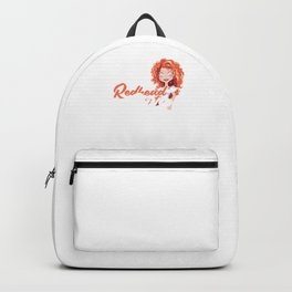 Redhead Diva Red Hair Redheads Ginger Gift Backpack