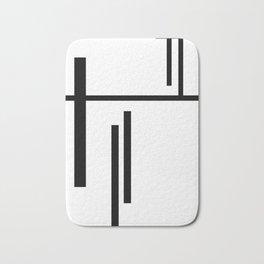 minimal Geometric #1 Bath Mat