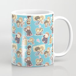 Chibilock Pattern Coffee Mug