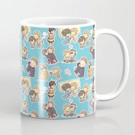 Chibilock Pattern Coffee Mug