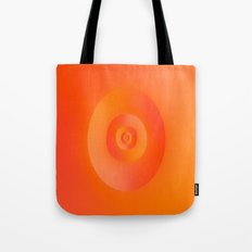 Flip in Orange and Red Tote Bag