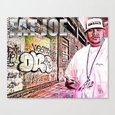Street Phenomenon Fat Joe Canvas Print