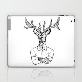bambi's a grown up now  Black Laptop & iPad Skin