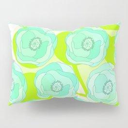 Mint Ombra Pillow Sham