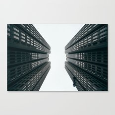 Skyscrapers - Modern City Art Print Canvas Print