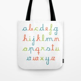 abc... rgb... Tote Bag
