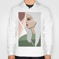 silver Hoodies featuring Silver by Kuralay