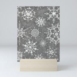 Winter Snowflakes Mini Art Print