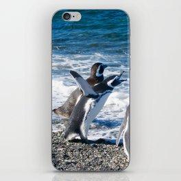Penguin clique iPhone Skin
