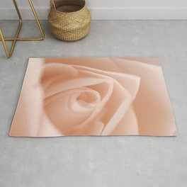 Romantic Light Pink Rose Rug