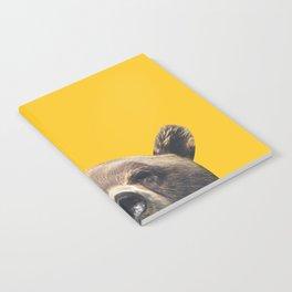 Bear - Yellow Notebook