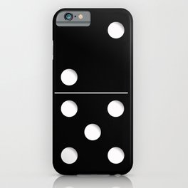 Domino iPhone Case