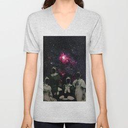 Untergang · Der Blick ins Universum Unisex V-Neck