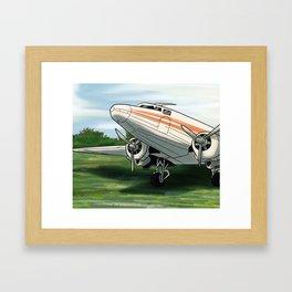 DC-3/C-47 Framed Art Print