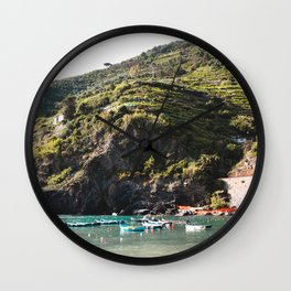 Italian Coast Wall Clock