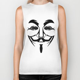 Anonymous Vendetta Biker Tank