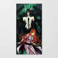 bleach Canvas Prints featuring Bleach by AlcoholicRattleSnake
