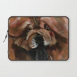 Chow dog portrait Laptop Sleeve