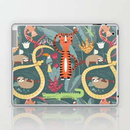 Rain forest animals 003 Laptop & iPad Skin