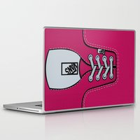 vans Laptop & iPad Skins featuring Pink Vans shoes iPhone 4 4s 5 5s 5c, ipod, ipad, pillow case and tshirt by Three Second